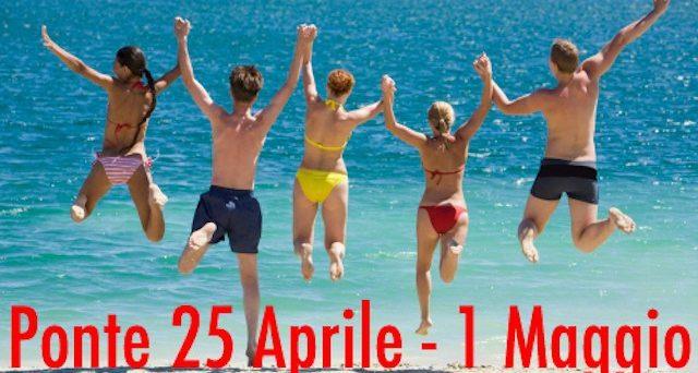 Super ponte tra 25 aprile e 1 primo maggio che permette 11 giorni di vacanza prendendo soltanto 5 giorni di ferie.