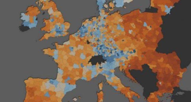 L'Italia spaccata in due, in alcune città si guadagna quanto le aree di alcuni paesi più poveri dell'est Europa.