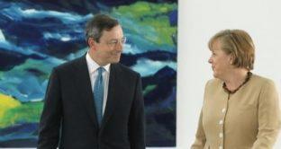 Draghi manda alla Germania un messaggio sull'euro