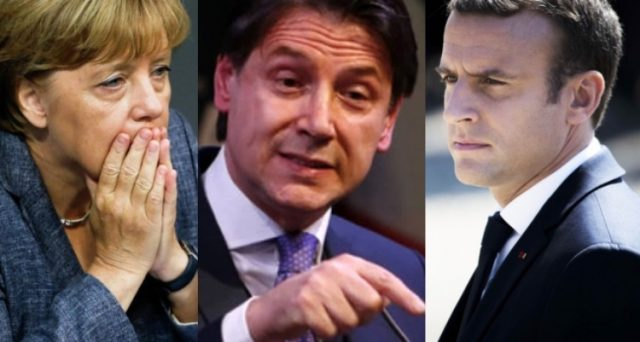Il Consiglio europeo di domani rischia di avere esiti nefasti per l'asse franco-tedesco. L'Italia ha smesso di avere paura e adesso non è più fuori dai giochi su euro, migranti e altre misure.
