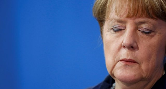 La caduta di Frau Merkel