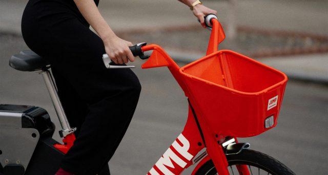 Debutta in Europa Jump, la bici elettrica di Uber con pedalata assistita, GPS e un sistema di sblocco tramite l'app.