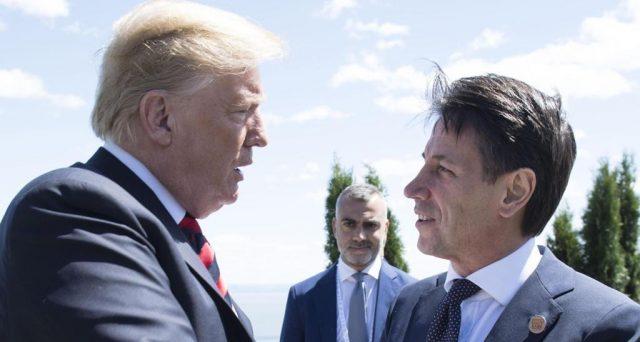 Prima visita ufficiale alla Casa Bianca per il premier Giuseppe Conte, che oggi incontra il presidente americano Donald Trump. Ai colloqui si parlerà di gas e migranti.