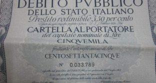 Il debito pubblico italiano già al 160% del pil?