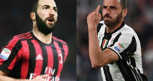 Gonzalo Higuain e Leonardo Bonucci legati da un destino incrociato: l'argentino andrebbe al Milan e il difensore azzurro tornerebbe alla Juve. Quale l'impatto possibile sui bilanci delle due società?