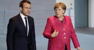 Merkel e Macron, due leader deboli in caduta