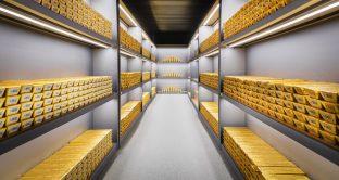 Quotazioni dell'oro ai minimi da dicembre