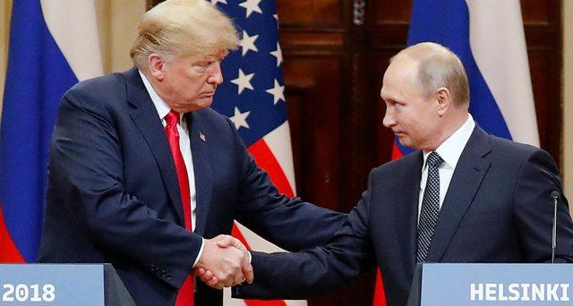 Risultati immagini per Trump e Putin