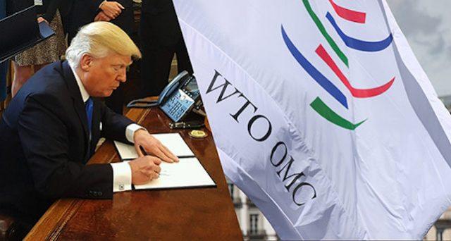 Se l'America di Trump si ritira dal WTO, sarebbe uno sconvolgimento per l'economia mondiale, al quale sarebbe bene che Europa e Cina iniziassero a prepararsi per non soccombere a un nuovo ordine globale.