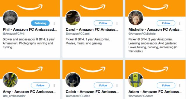 Amazon offrirebbe dei benefits ad alcuni dipendenti che su Twitter si prestano a difendere il colosso in merito alle condizioni di lavoro.