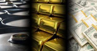 Oro e petrolio in affanno sui mercati