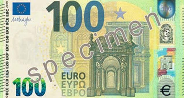 Debuttano nel 2019 le nuove  banconote da 100 e 200 euro: ecco come cambiano.