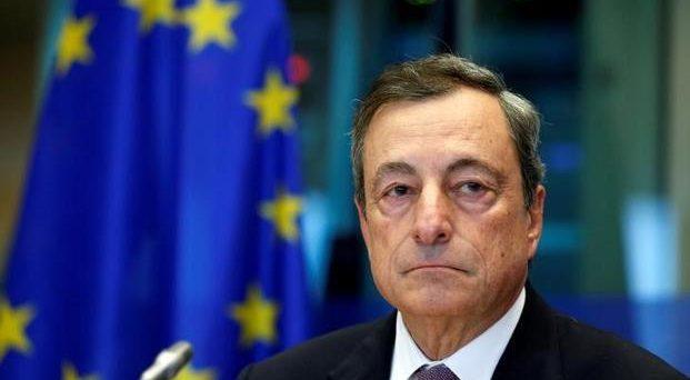 La BCE di Draghi oggi al settimo board dell'anno