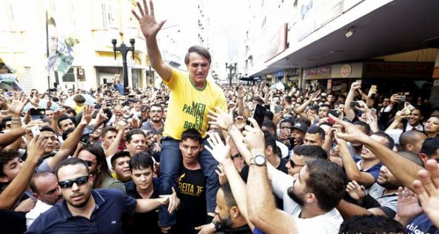 Il Brasile starebbe per eleggere il suo Trump, voltando le spalle all'era Lula. I mercati da settimane confidano nel candidato dell'ultra-destra, Jair Bolsonaro.