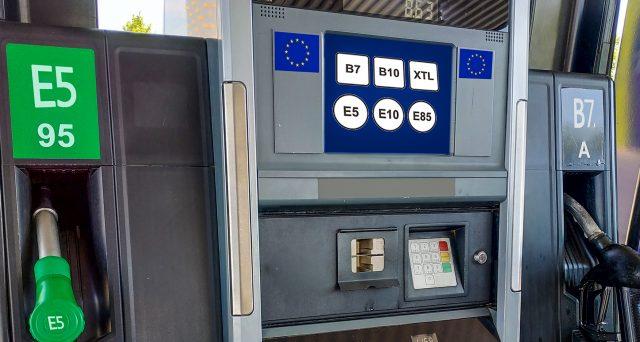 Da oggi cambiano i nomi di benzina, diesel e Gpl con le nuove etichette europee. Le novità per gli automobilisti.