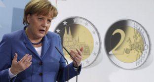 Frau Merkel a fine corsa dopo anni di bugie sull'euro