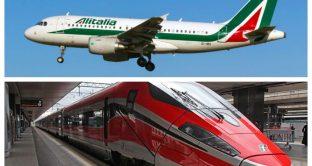 Alitalia, integrazione treni-aerei al via