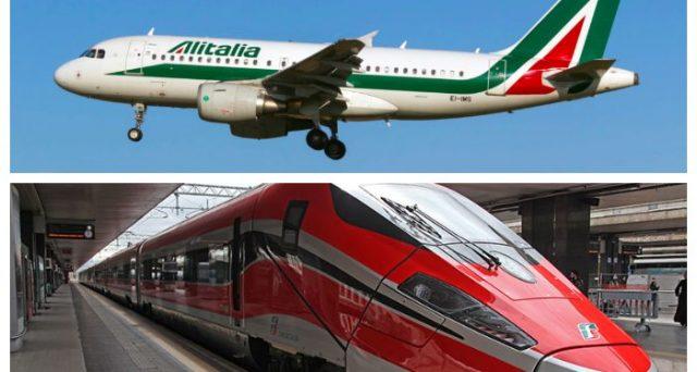 Prende forma l'integrazione tra Alitalia e Ferrovie dello stato, con soppressione di voli a breve raggio e treni fino in aeroporto per facilitare la mobilità. Se il petrolio consente, i conti della compagnia evolveranno per il meglio.