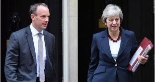 Caos Brexit, c'è l'accordo con la UE e governo May va in pezzi