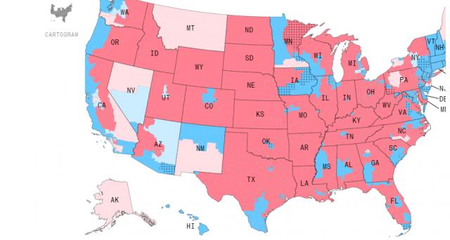 Le elezioni di medio termine per Trump sono un successo a metà. I democratici conquistano la Camera, mentre i repubblicani si tengono il Senato e la maggioranza dei governatori. Ecco gli effetti possibili sui mercati.