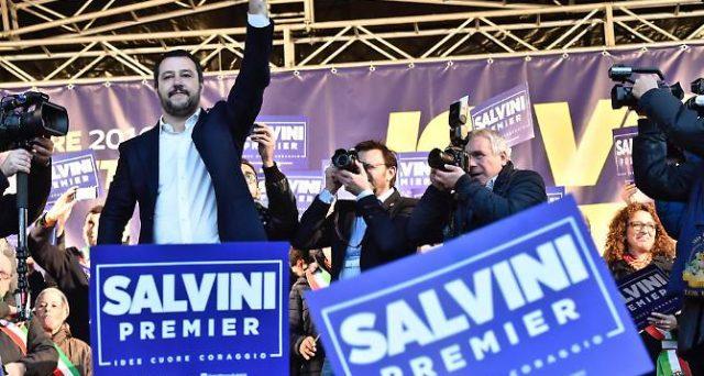 Salvini e la strada per diventare premier