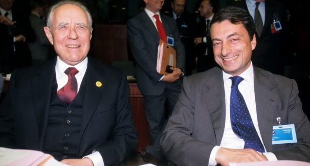 La verità parziale di Draghi sull'Italia della lira