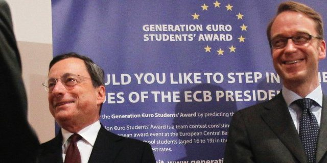 Dopo Draghi, un tedesco alla BCE?