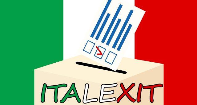 Il ritorno alla lira dell'Italia viene stimata una probabilità bassa dal mercato per il breve termine, non forse per il medio-lungo. Tuttavia, il vero rischio percepito potrebbe essere un altro.