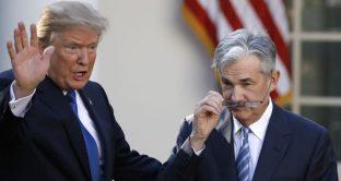 Lo scontro tra Trump e Powell