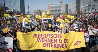 I tassi negativi dei Bund li pagano qui inquilini in Germania, a Berlino petizione per espropriare le case