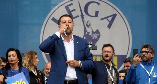 Salvini stravince le europee