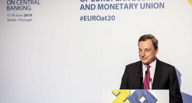 Draghi e l'Italia nell'euro