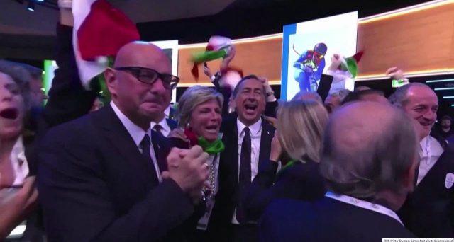Olimpiadi invernali Milano e Cortina 2026, vince l'Italia