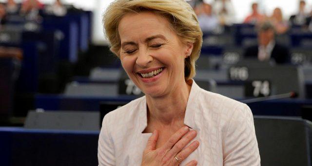5 Stelle decisivi per l'elezione di Ursula von der Leyen