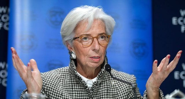 Christine Lagarde all'attacco contro la Germania