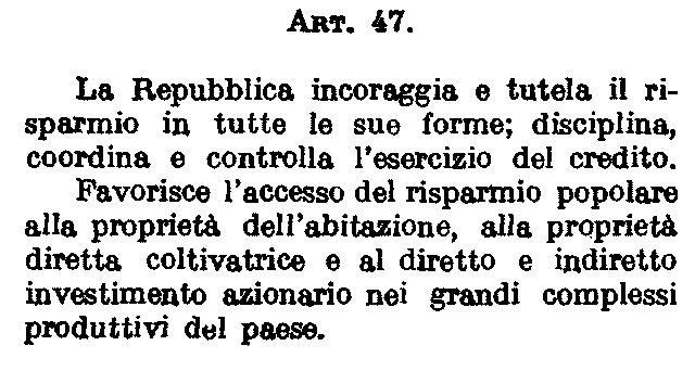La tutela del risparmio in Italia è rimasta lettera morta. E gli investimenti degli italiani non vengono nemmeno incoraggiati, anzi quasi apertamente disincentivati da tasse e criminalizzazione della ricchezza.