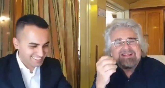 Beppe Grillo incontro Luigi Di Maio e lo