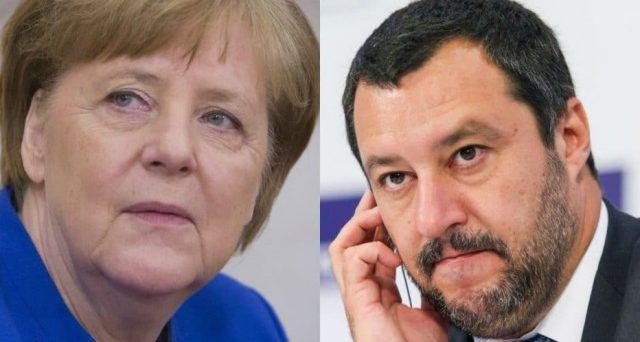 Matteo Salvini e Angela Merkel sarebbero meno lontani di quanto crediamo. La Germania guarda con fastidio al Conte-bis e sarebbe incline ad accettare il leghista a Palazzo Chigi per difendere l'interesse dei tedeschi in Europa.