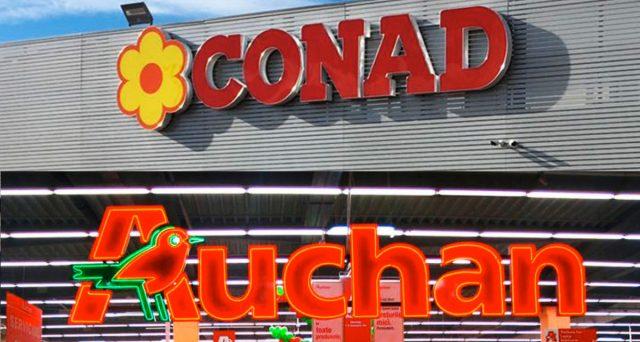 Ancora caos nel passaggio Auchan-Conad: possibili 3mila esuberi, ancora nulla sembra chiarito.