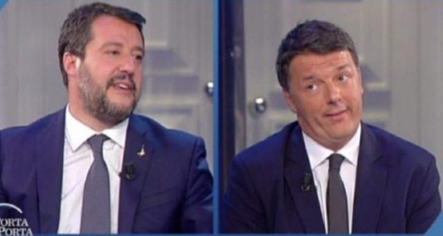 Il leader della Lega e l'ex premier si sarebbero incontrati in Toscana nei giorni scorsi e dal faccia a faccia sarebbero scaturite alcune ipotesi molto interessanti sul futuro della politica italiana.