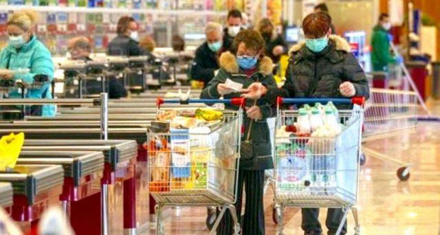 Antitrust avvia indagine per i prezzi della spesa aumentati nei mesi del lockdown.