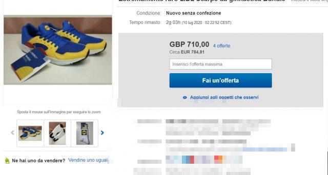 Stanno spopolando le scarpe Lidl, costano 13 euro ma sono introvabili e c'è chi le vende a 500 euro.