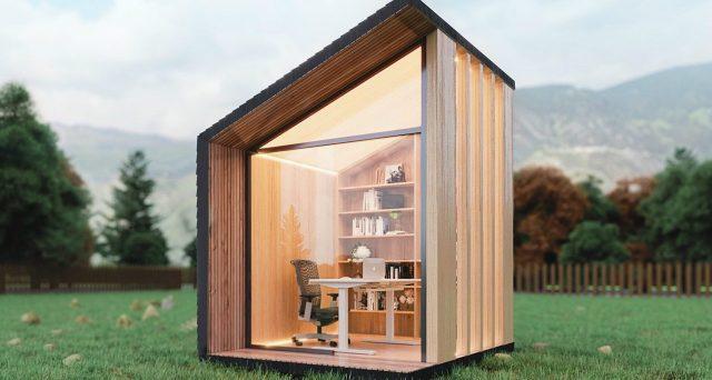 Il progetto si chiama Zen Work Pod, una capsula per lavorare anche in cortile o in giardino.