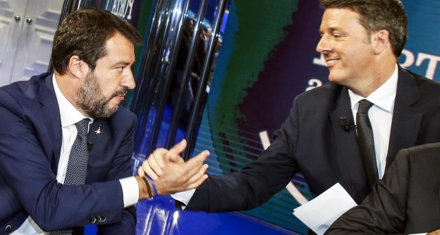 Matteo Salvini e Matteo Renzi non escono bene dalle elezioni amministrative, anche se le maggiori difficoltà le sta patendo l'ex premier.
