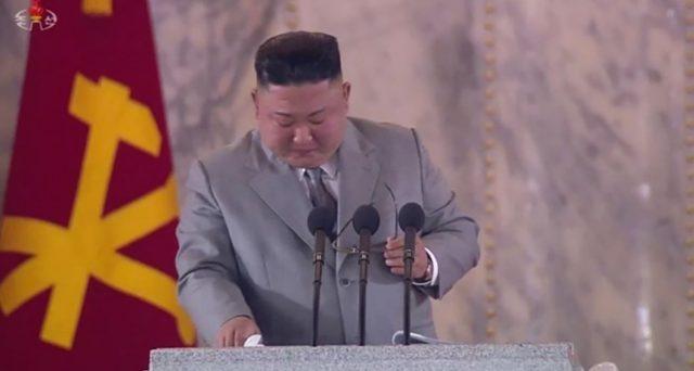 Le lacrime del Caro Leader
