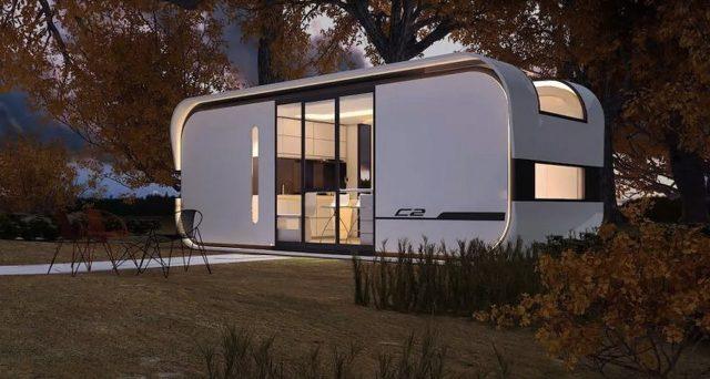 Si chiama Cube Two e può ospitare fino a 4 persone, sembra un camper ma è una casa ultra moderna.