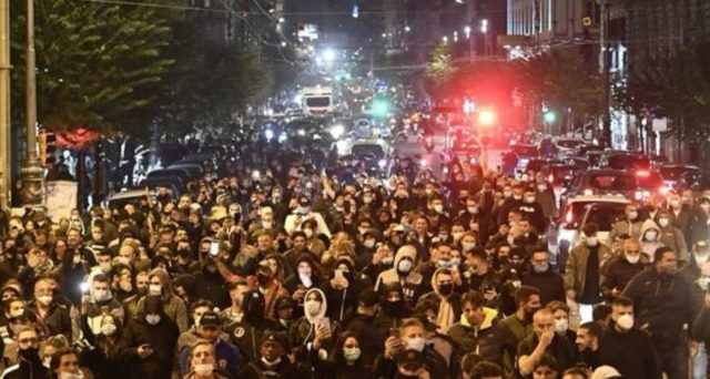 L'allarme delle proteste di Napoli