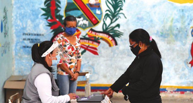 Elezioni farsa in Venezuela ieri