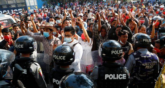 Cosa succede in Myanmar