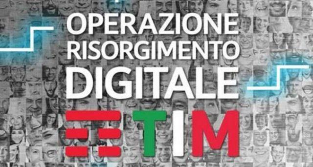 Operazione Risorgimento Digitale di TIM